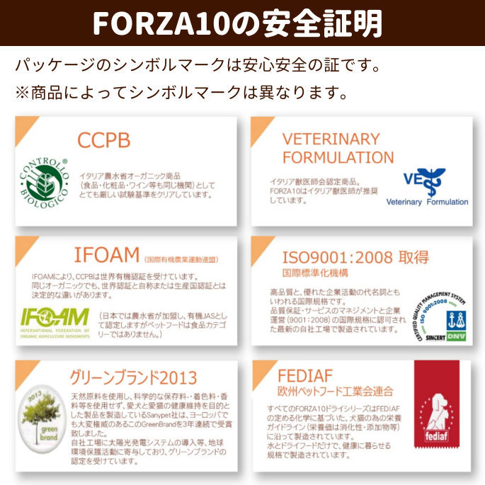 FORZA10療法食|ハイポアレルジェニックアクティブ(皮膚ケア)  454g  フォルツァディエチ キャットフード