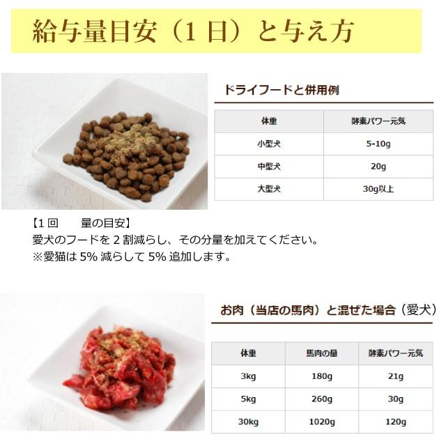 犬用猫用 野菜|酵素パワー元気健康プラス 発酵野菜パウダー 150g/500g 発酵食品【定期購入もできます】