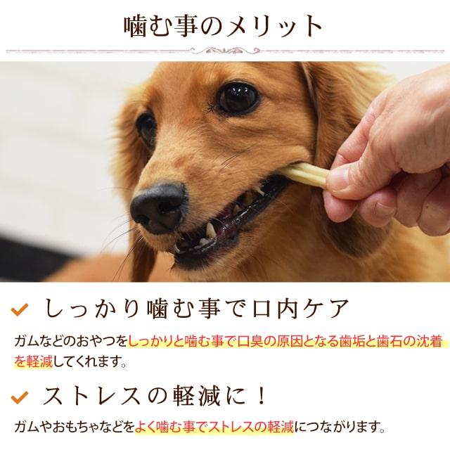犬用おやつ なた豆ライスガムソフト やわらかめのガムで子犬から老犬まで