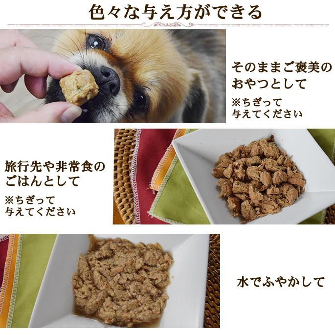 ビッグドッグ 【犬用】バイトサイズフリーズドライ タスマニアサーモン 160g 小型犬におすすめ