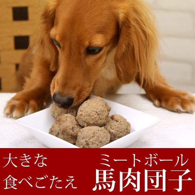 犬猫用 馬肉 愛犬愛猫用 馬肉団子(ミートボール) 手作り食にも