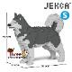 JEKCA ジェッカブロック (Sサイズ) アラスカン・マラミュート ST19PT51-M03