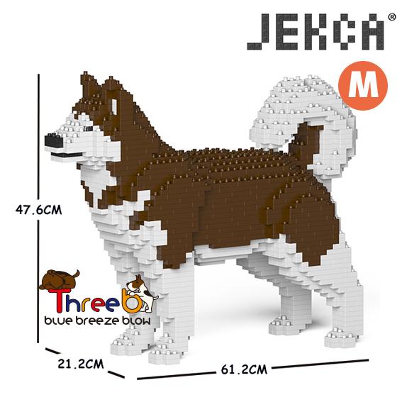 JEKCA ジェッカブロック (Mサイズ) アラスカン・マラミュート CM19PT51-M02