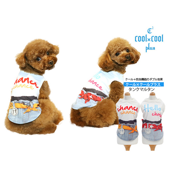 クークチュール COOL×COOLplus 全2色 【タンクマルタン】12246 S-3L,ST-LTサイズ クール×防虫加工のダブル効果