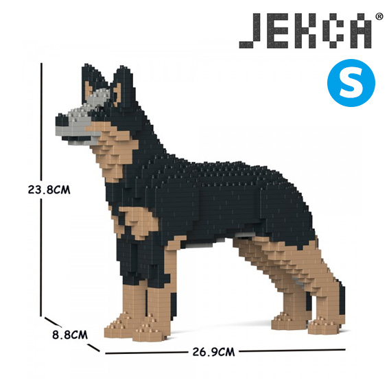 【JEKCA BLOC】オーストラリアン・キャトル・ドッグ(S・M)