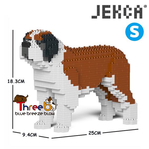 【JEKCA BLOC】セント・バーナード(S・M)