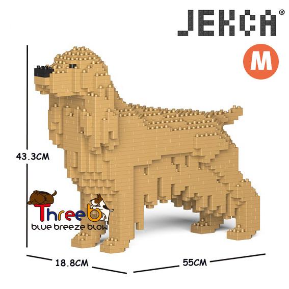 JEKCA ジェッカブロック (Mサイズ) イングリッシュ・コッカー・スパニエル CM19PT24-M01