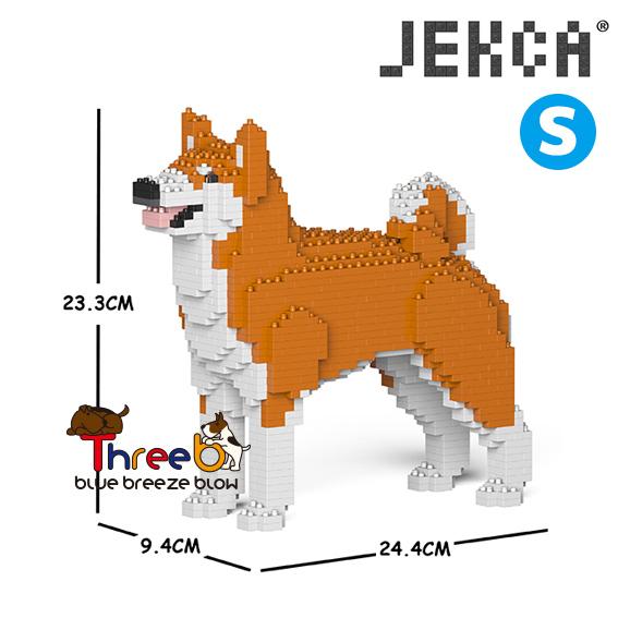JEKCA ジェッカブロック (Sサイズ) 秋田犬 AKITA__ST19PT50-M01