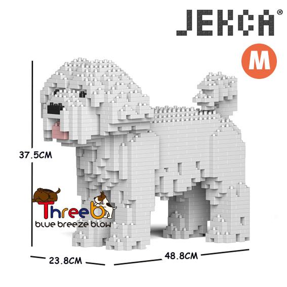 【JEKCA BLOC】マルチーズ(S・M)