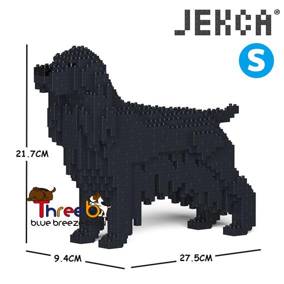 JEKCA ジェッカブロック (Sサイズ) イングリッシュ・コッカー・スパニエル ST19PT24-M02