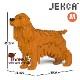 JEKCA ジェッカブロック (Mサイズ) イングリッシュ・コッカー・スパニエル CM19PT24-M03