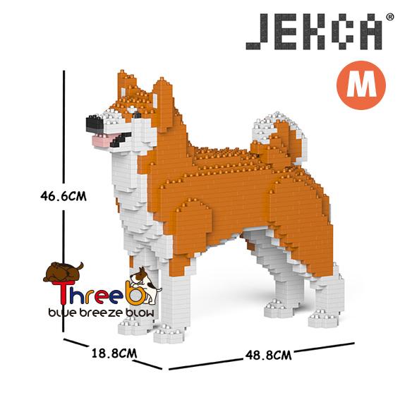 JEKCA ジェッカブロック (Mサイズ) 秋田犬 AKITA__CM19PT50-M01