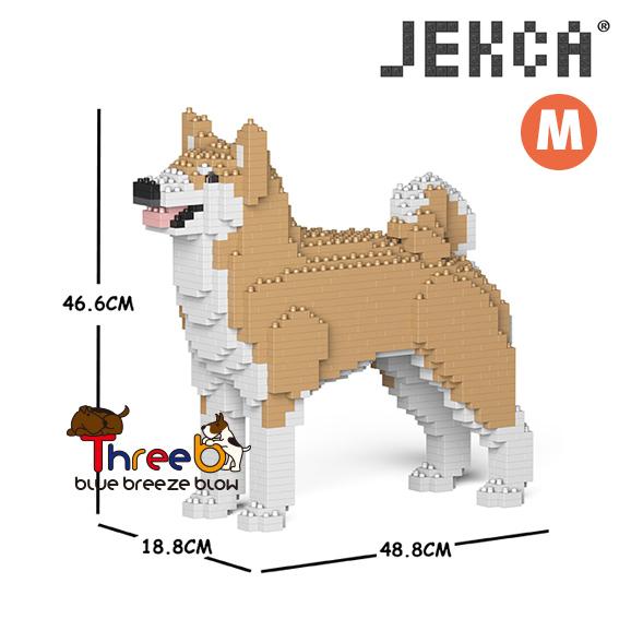 JEKCA ジェッカブロック (Mサイズ) 秋田犬 AKITA__CM19PT50-M02