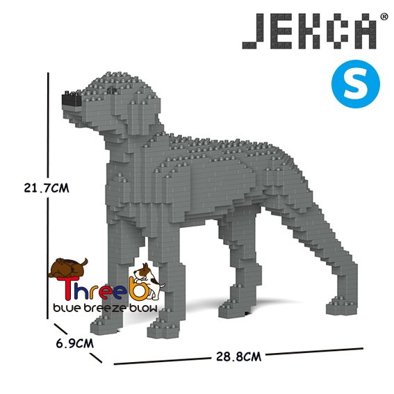 【JEKCA BLOC】ワイマラナー(S・M)