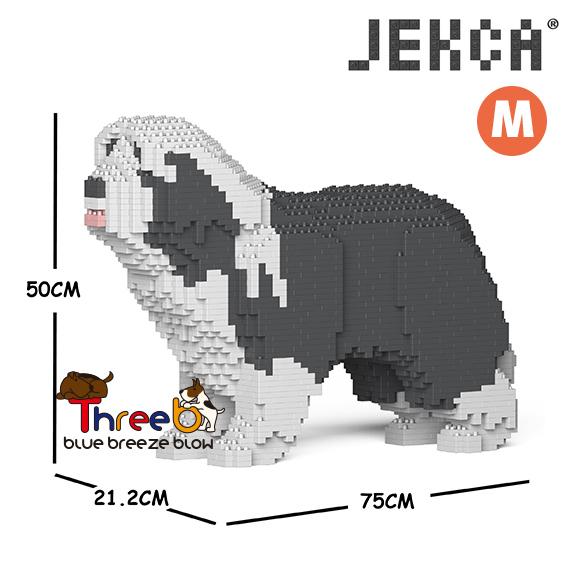 【JEKCA BLOC】ビアデッド・コリー(S・M)