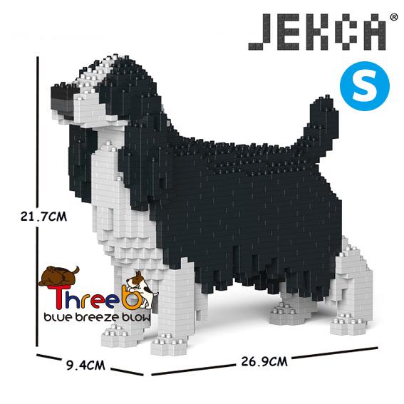 JEKCA ジェッカブロック (Sサイズ) イングリッシュスプリンガースパニエル ST19PT42-M02