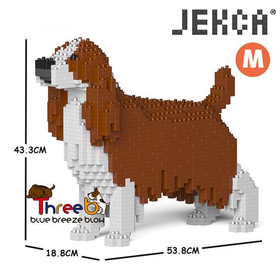 JEKCA ジェッカブロック (Mサイズ) イングリッシュスプリンガースパニエル CM19PT42-M01