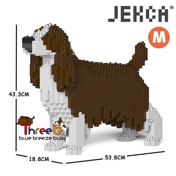 JEKCA ジェッカブロック (Mサイズ) イングリッシュスプリンガースパニエル CM19PT42-M03