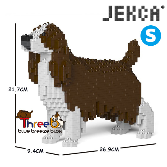 JEKCA ジェッカブロック (Sサイズ) イングリッシュスプリンガースパニエル ST19PT42-M03