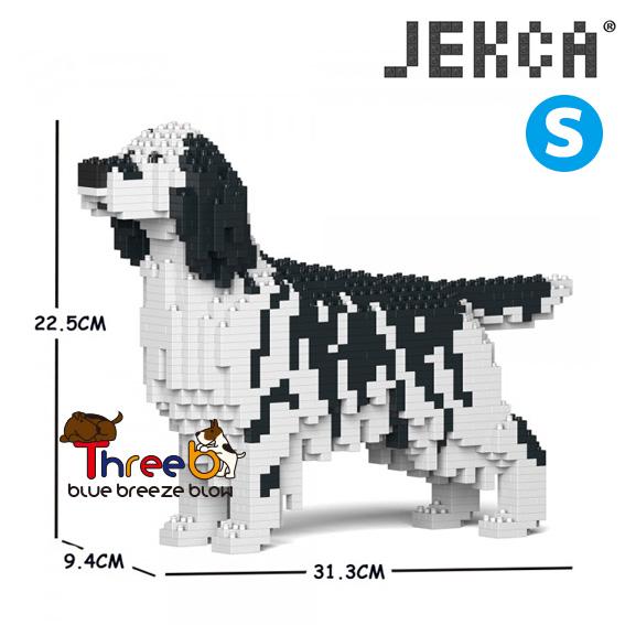 JEKCA ジェッカブロック (Sサイズ) イングリッシュ・セター ST19PT76-M02