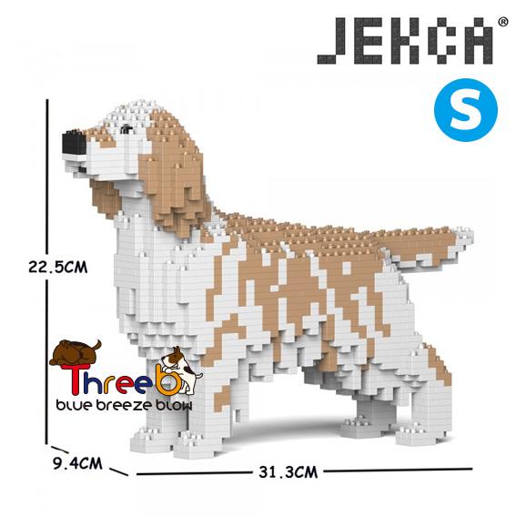 JEKCA ジェッカブロック (Sサイズ) イングリッシュ・セター ST19PT76-M01