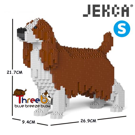 JEKCA ジェッカブロック (Sサイズ) イングリッシュスプリンガースパニエル ST19PT42-M01