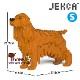 JEKCA ジェッカブロック (Sサイズ) イングリッシュ・コッカー・スパニエル ST19PT24-M03