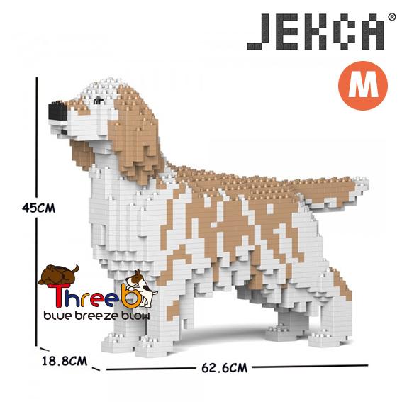 JEKCA ジェッカブロック (Mサイズ) イングリッシュ・セター CM19PT76-M01