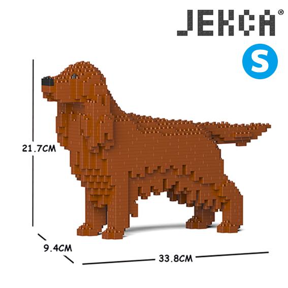 JEKCA ジェッカブロック (Sサイズ) アイリッシュ・セッター ST19PT64