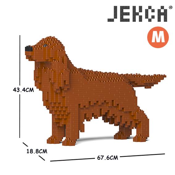 JEKCA ジェッカブロック (Mサイズ) アイリッシュ・セッター CM19PT64