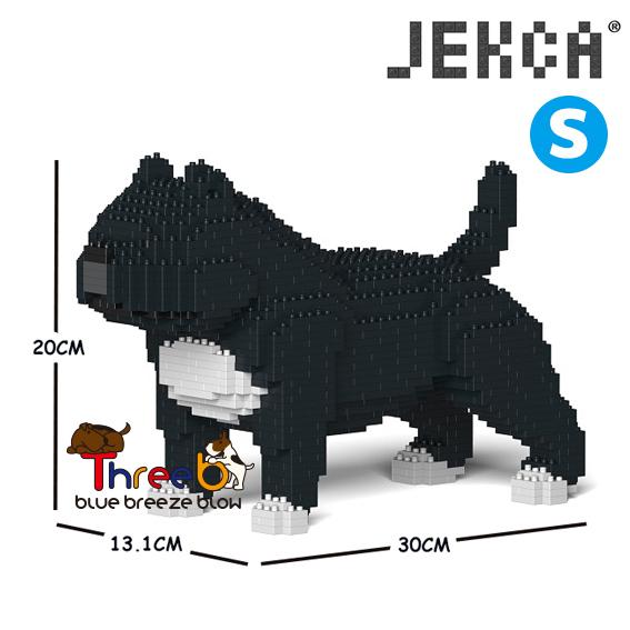 JEKCA ジェッカブロック (Sサイズ) アメリカンブリー ピットブル ST19PT43-M02