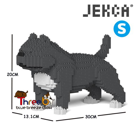 JEKCA ジェッカブロック (Sサイズ) アメリカンブリー ピットブル ST19PT43-M03