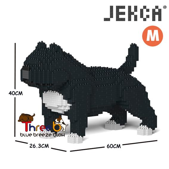 JEKCA ジェッカブロック (Mサイズ) アメリカンブリー ピットブル CM19PT43-M02