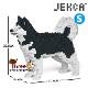 JEKCA ジェッカブロック (Sサイズ) アラスカン・マラミュート ST19PT51-M01