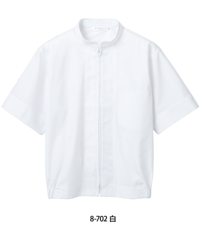 ポプリンジャンパー半袖[男女兼用][住商モンブラン製品] 8-702