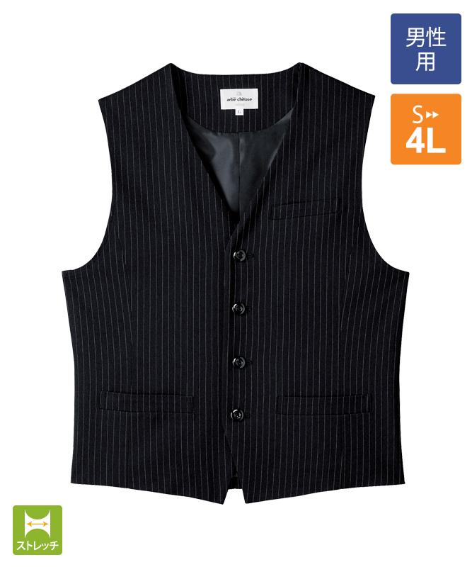 ベスト(ストライプ)[男子][チトセ製品] AS8230