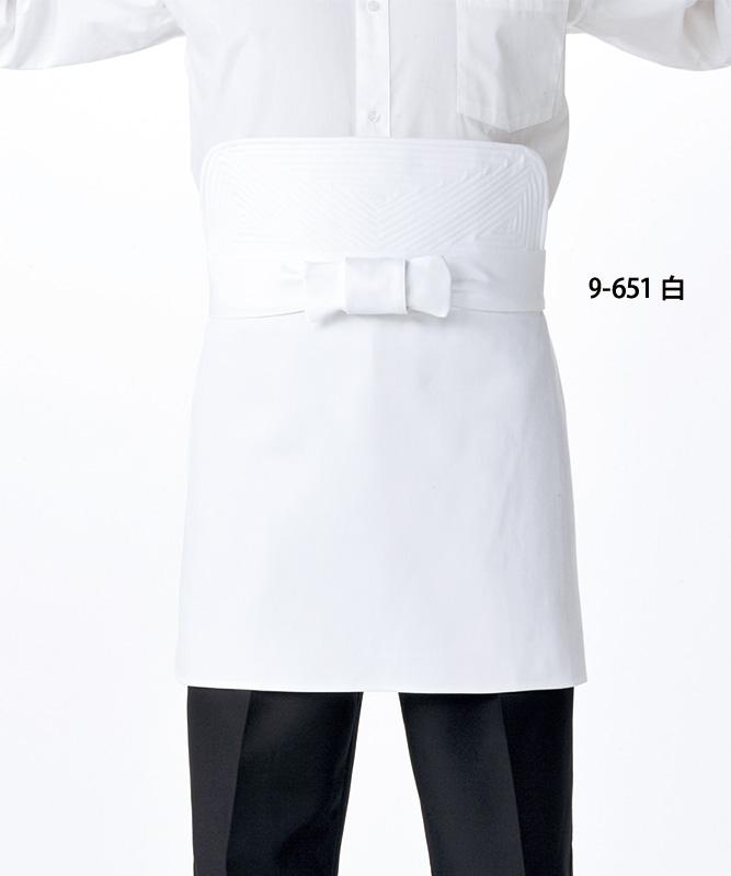 刺子前掛[男女兼用][住商モンブラン製品] 9-651