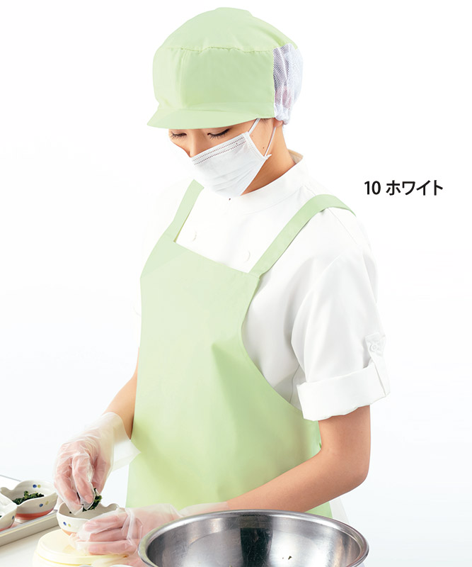 ポプリンコックシャツ七分袖[男女兼用][KAZEN製品] APK210