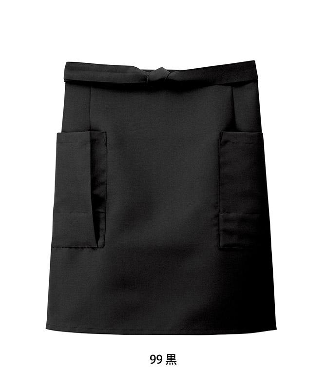前掛けエプロン(ショート丈)[男女兼用][ボストン商会製品] 27323