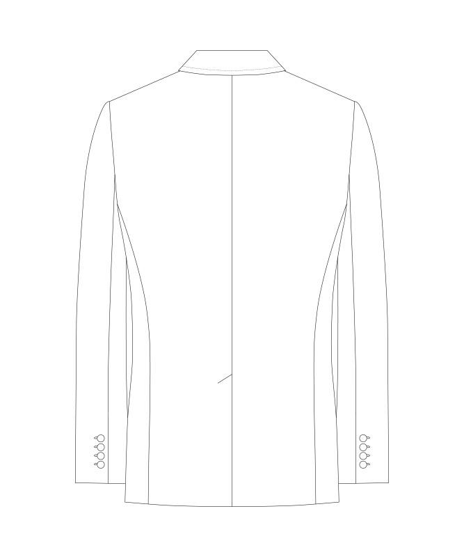 ジャケット[男子][チトセ製品] KM8379