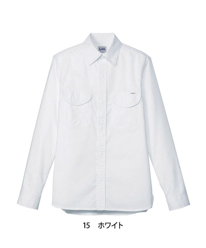Leeシャンブレー長袖[男性用][ボンマックス製品] LCS46003