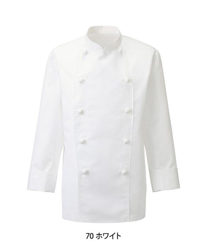 ポプリンコックコート長袖[男女兼用][KAZEN製品] 410-70