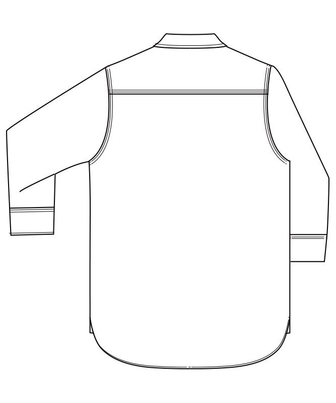Leeシャンブレー七分袖[男性用][ボンマックス製品] LCS46004