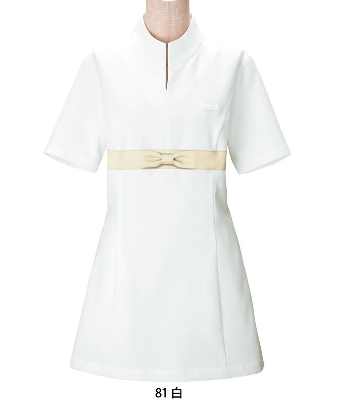 ツイルチュニックシャツ半袖[女子][ボストン商会製品] 00115