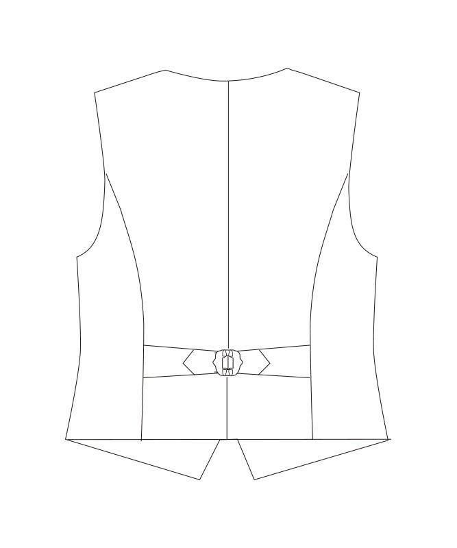 ベスト[男子][チトセ製品] KM8381