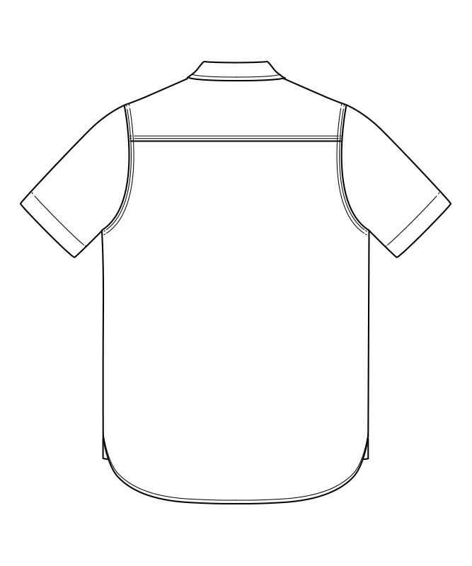 Leeシャンブレー半袖[男性用][ボンマックス製品] LCS46005