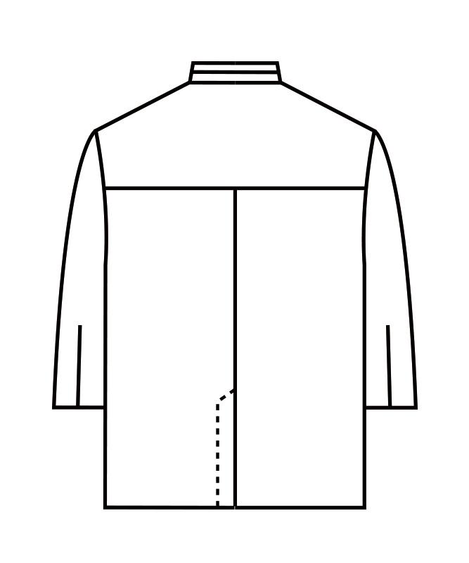 調理衣七分袖[男女兼用][住商モンブラン製品] 1-591