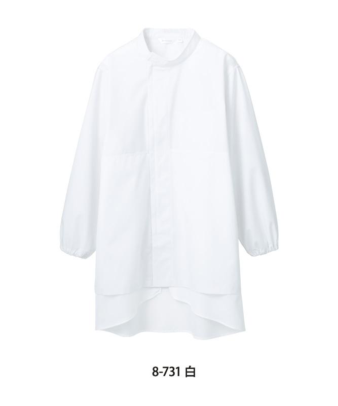 ポプリンブルゾン長袖[男女兼用][住商モンブラン製品] 8-73