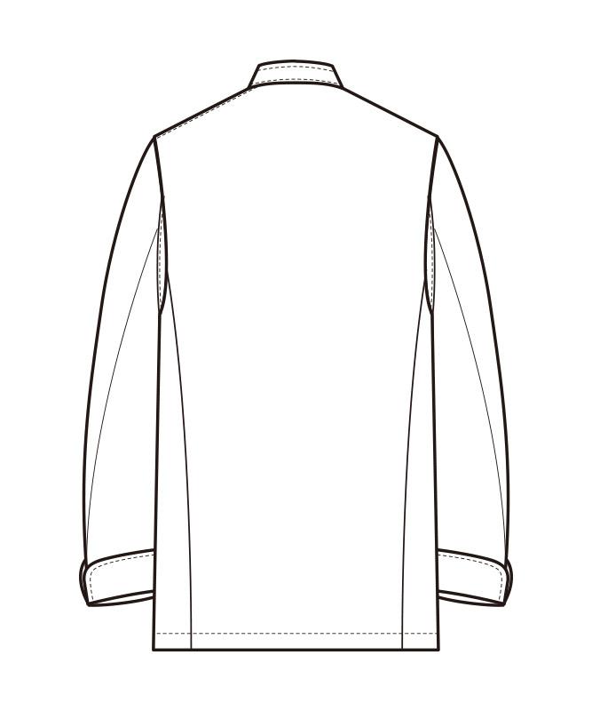 コックコート長袖[男女兼用][セブンユニフォーム製品] AA211