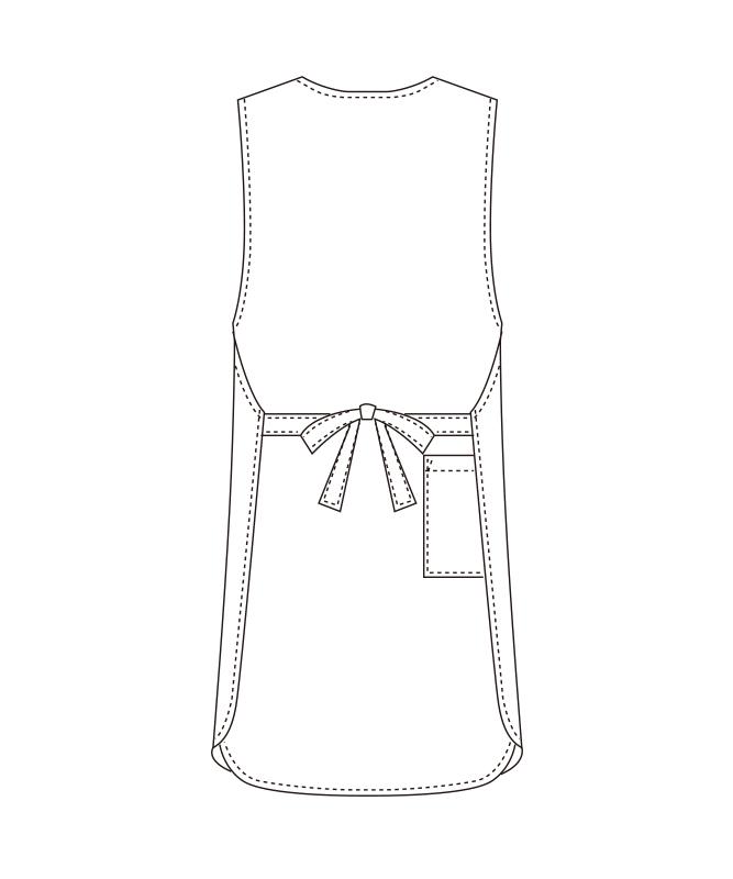 トロピカルエプロン[チトセ製品] T-6880